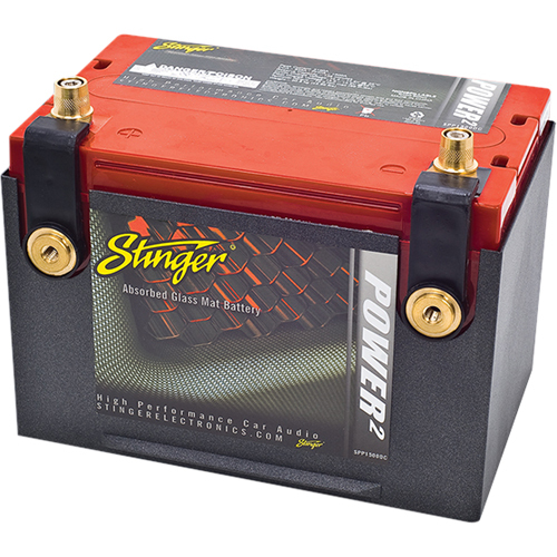 Stinger Electronics Power2 SPP Vehicle Battery
