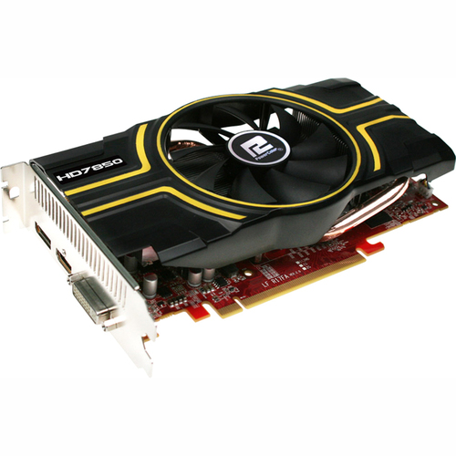 PowerColor Radeon HD 7850 Graphic Card - 2 GPUs - 860 MHz Core - 2 GB GDDR5 SDRAM - PCI-Express 3.0 x16