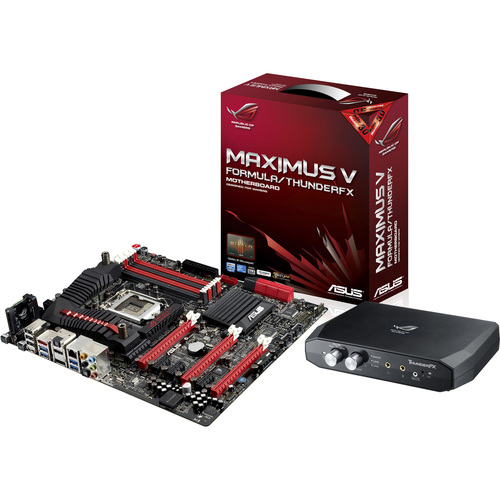 Asus Maximus V Formula/ThunderFX Desktop Motherboard - Intel Z77 Express Chipset - Socket H2 LGA-1155