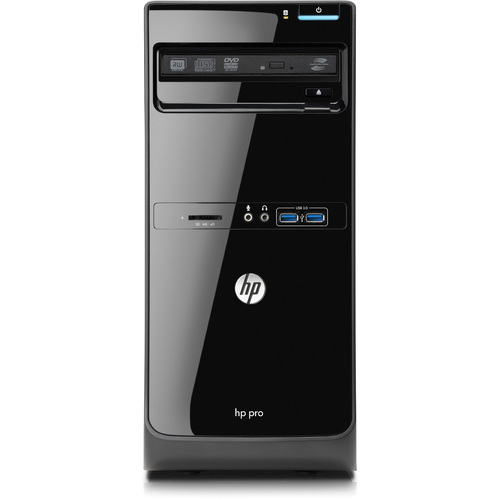 HP Business Desktop Pro 3500 Desktop Computer - Intel Pentium G640 2.80 GHz - Micro Tower