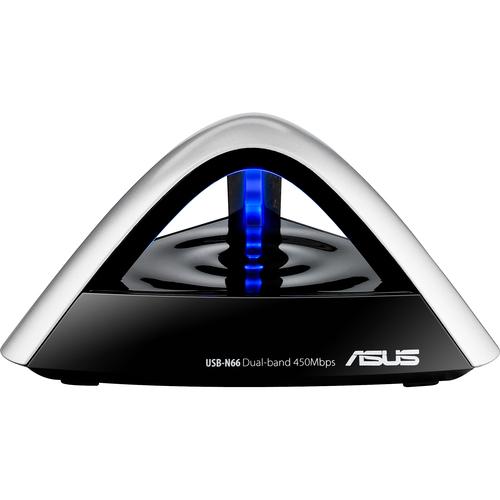 Asus USB-N66 IEEE 802.11n USB - Wi-Fi Adapter
