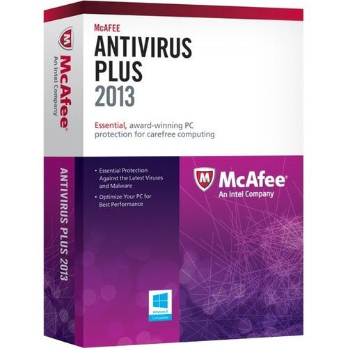 McAfee AntiVirus 2013 Plus - 3 PC