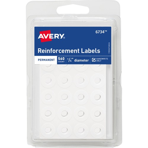 Avery Permanent Reinforcement Label Rings | by Plexsupply