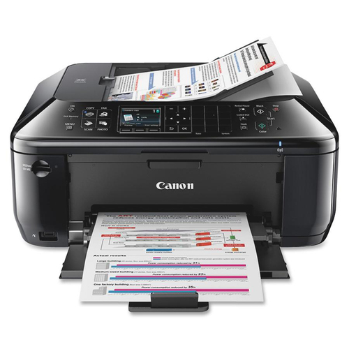 Canon PIXMA MX512 Inkjet Multifunction Printer - Color - Photo Print - Desktop