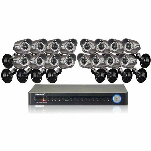 Lorex ECO2 16 Channel Wired DVR Security Camera System