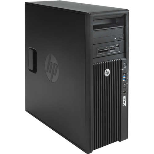 HP Z220 Convertible Mini-tower Workstation - 1 x Processors Supported - 1 x 3.20 GHz