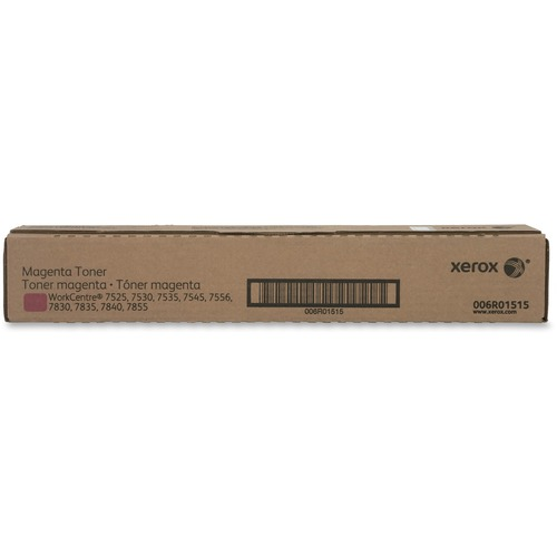 Xerox Magenta Toner for the WorkCentre 7525/7530/7535/7545/7556 - 6R1515