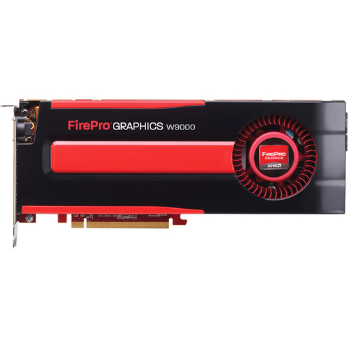 AMD FirePro W9000 Graphic Card - 6 GB GDDR5 SDRAM - PCI-Express 3.0 x16 - Full-length/Full-height