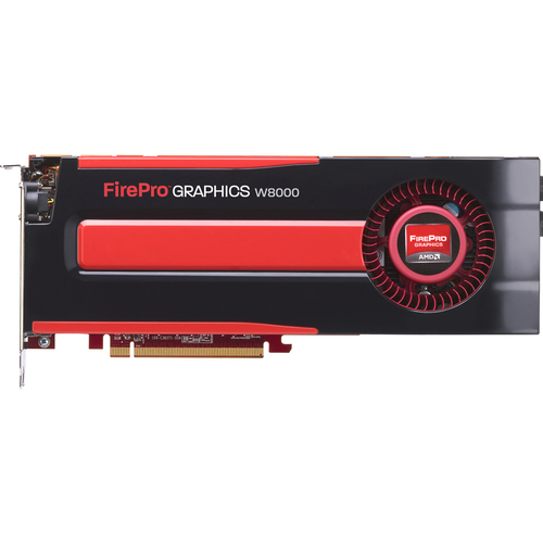 AMD FirePro W8000 Graphic Card - 4 GB GDDR5 SDRAM - PCI-Express 3.0 x16 - Full-length/Full-height