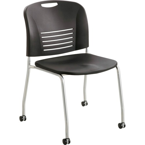 Safco Vy Rolling Stack Chair | by Plexsupply