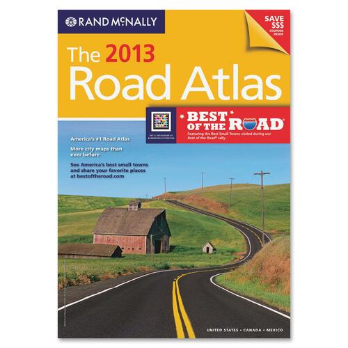 Advantus Rand McNally Road Atlas Travel Manual