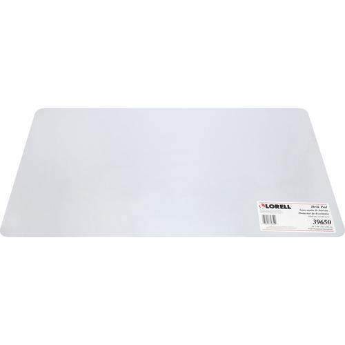 Lorell Rectangular Crystal-clear Desk Pad | by Plexsupply