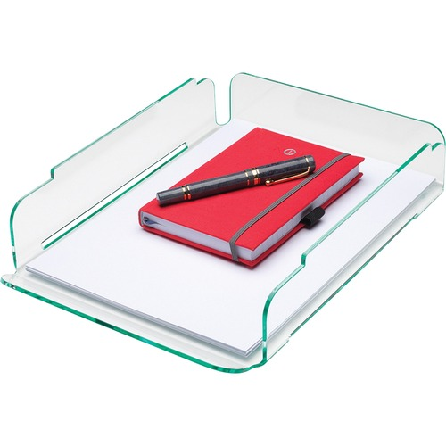 Lorell Single Stacking Letter Tray | by Plexsupply