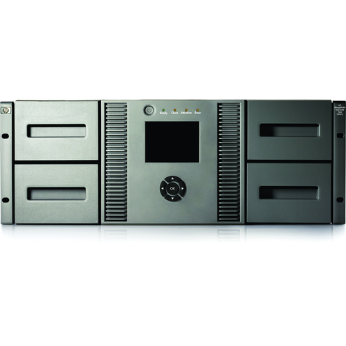 HP MSL4048 2 LTO-4 Ultrium 1760 SAS Tape Library (AK380B)