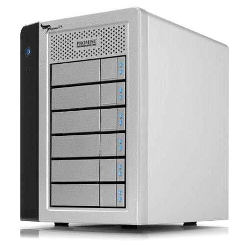 Promise Pegasus R6 DAS Array - 6 x HDD Installed - 18 TB Installed HDD Capacity