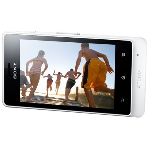 Sony Xperia Advance Smartphone - Wi-Fi - 3G - Bar - White