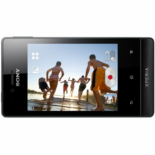 Sony XPERIA miro Smartphone - 4 GB Built-in Memory - Wireless LAN - 3G - Bar - Black