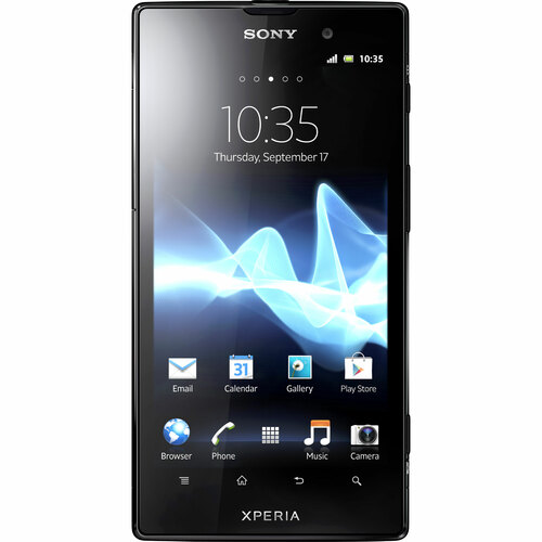 Sony XPERIA ion Smartphone - Wi-Fi - 4G - Bar - Red