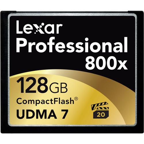 Lexar Professional 128 GB CompactFlash (CF) Card - 1 Card
