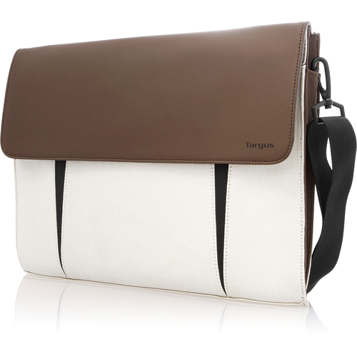 "Targus TTS00512US Carrying Case for 14"" Ultrabook, MacBook - Bone White"