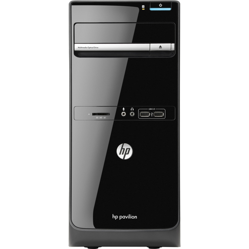 HP Pavilion p6-2300 p6-2330 Desktop Computer - AMD A-Series A6-5400K 3.60 GHz - Micro Tower