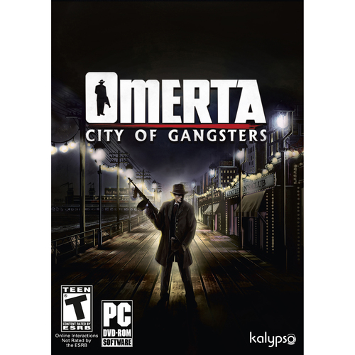 Atlus USA Omerta - City of Gangsters