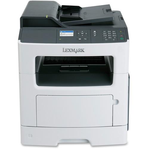 Lexmark MX310DN Laser Multifunction Printer | Monochrome | Plain Paper Print | Desktop