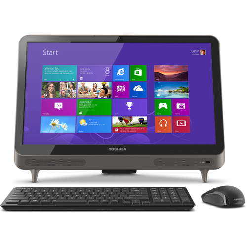 Toshiba LX835-D3340 All-in-One Computer - Intel Core i7 i7-3630QM 2.40 GHz - Desktop - Black