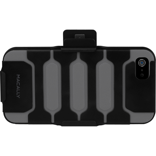 MacAlly Carrying Case (Holster) for iPhone - Black, Gray