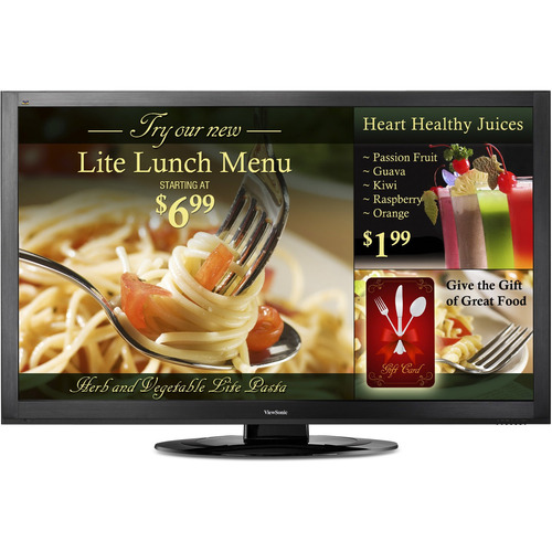 "Viewsonic CDE6501LED 65"" LED LCD Monitor - 16:9 - 8 ms"