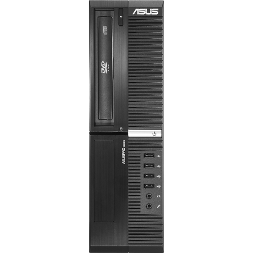 Asus BP6320-I321200062 Desktop Computer - Intel Core i3 i3-2120 3.30 GHz - Small Form Factor - Black
