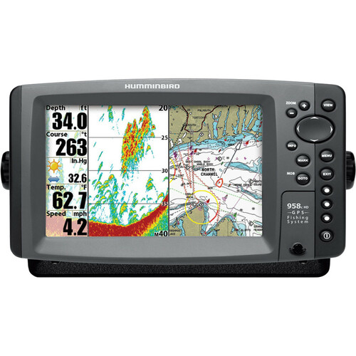 Johnson Outdoors 958c HD Combo Marine GPS Navigator