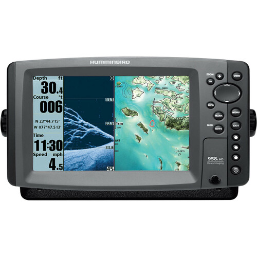 JohnsonOutdoors 958c HD DI Marine GPS Navigator