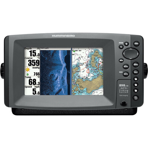 Johnson Outdoors 898c HD SI Combo Marine GPS Navigator