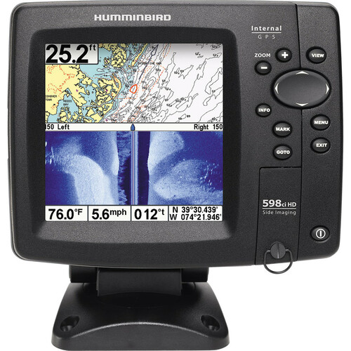 JohnsonOutdoors 598ci HD SI Combo Marine GPS Navigator