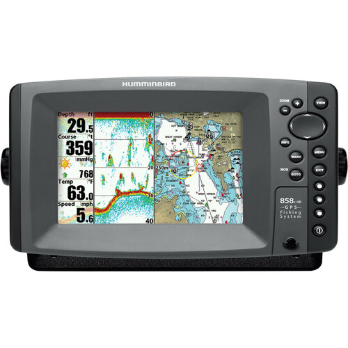 JohnsonOutdoors 858c HD Combo Marine GPS Navigator
