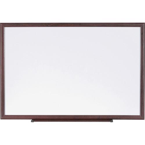 Lorell Wood Frame Dry-Erase Marker Boards | by Plexsupply