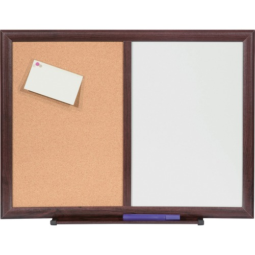 Lorell Dry-Erase/Bulletin Combo Board | by Plexsupply