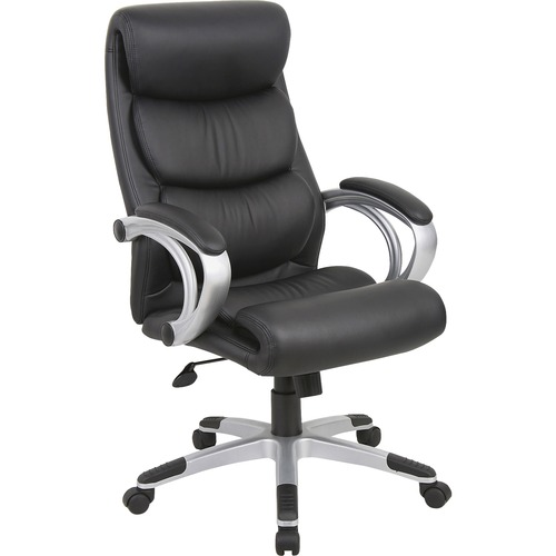 Lorell Executive High-back Swivel Leather Chair | by Plexsupply