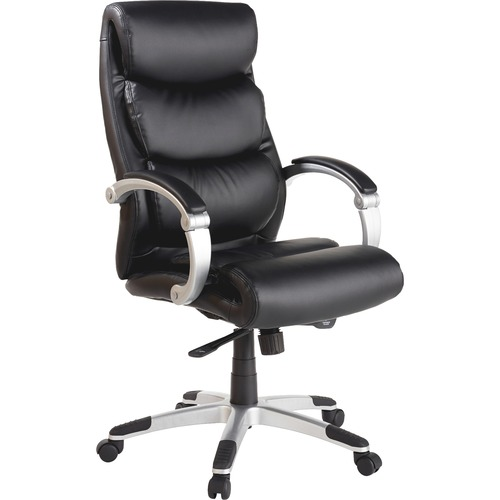 Lorell Executive Flex Arms Leather High-back Chair | by Plexsupply