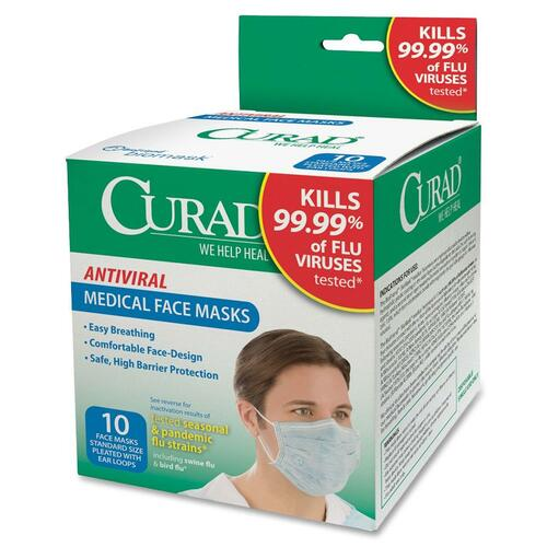 Medline Antiviral Medical Face Mask