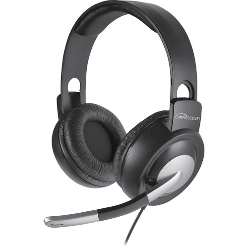 Compucessory Boom Microphone Stereo Headset | by Plexsupply