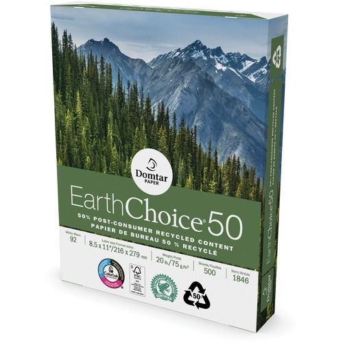 Domtar EarthChoice 50 Recycled Office Paper | by Plexsupply