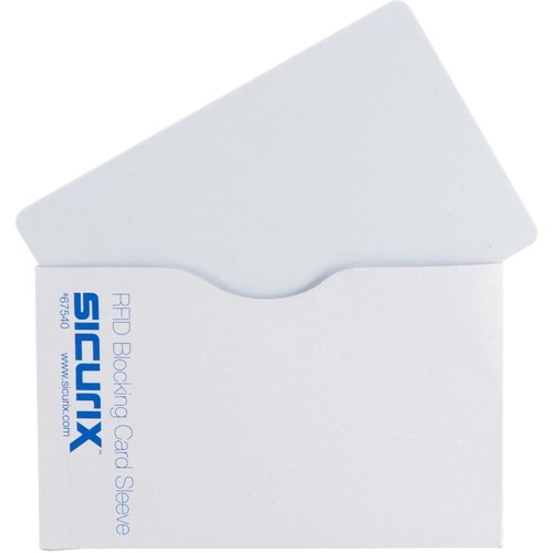 Baumgartens Smart Card RFID-blocking Sleeves   by Plexsupply