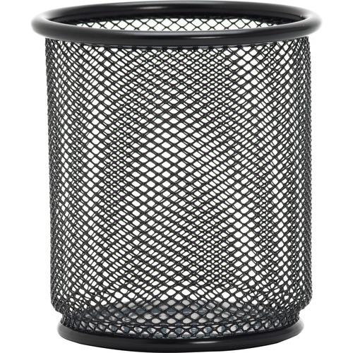 Lorell Black Mesh Pencil Cup Holder | by Plexsupply