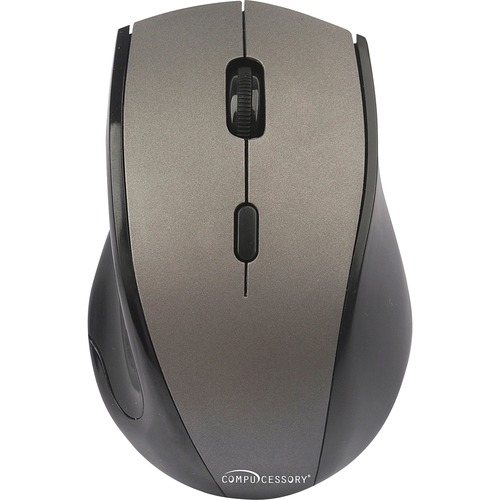 Compucessory Wireless Mouse, 2.4G, Gray