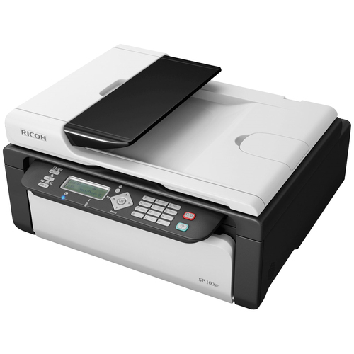 Ricoh Aficio SP 100SF e Laser Multifunction Printer - Monochrome - Plain Paper Print - Desktop