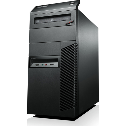 Lenovo ThinkCentre M82 3302F1U Desktop Computer - Intel Core i3 i3-3220 3.30 GHz - Tower - Business Black