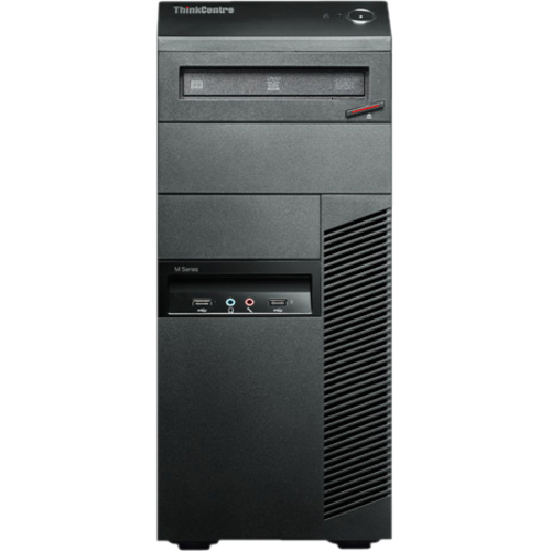 Lenovo ThinkCentre M82 2697J5U Desktop Computer - Intel Core i7 i7-3770 3.40 GHz - Tower - Business Black