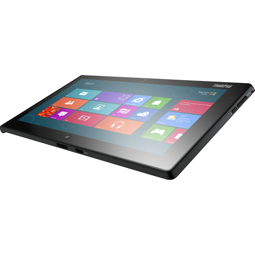 "Lenovo ThinkPad Tablet 2 10.1"" LED Intel Atom Z2760 1.8GHz 2GB RAM 64GB Win8 Pro 32-bit Slate Net-Tablet PC Black"